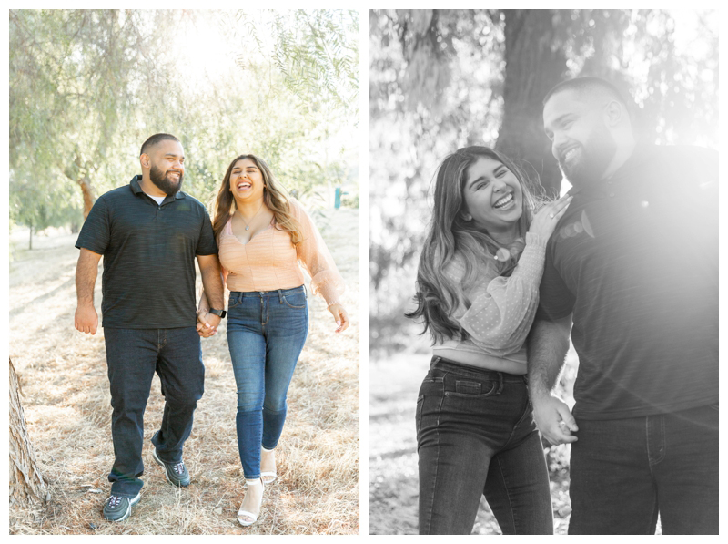 Engagement Photos in Chino Hills